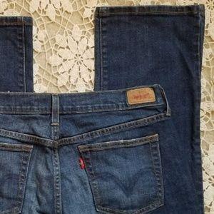 Levi's 505 Ladies Straight Leg Size 10 Short